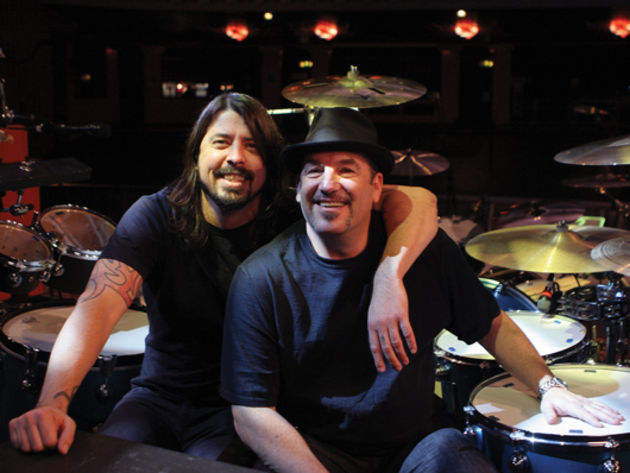 Dave Grohl and Gersh