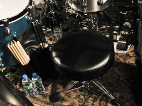 Dave Grohl's drum setup revealed: Them Crooked Vultures