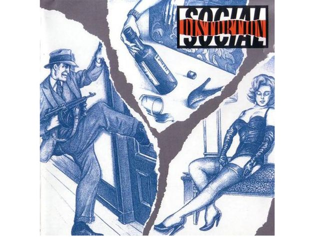 Social Distortion – Social Distortion (1990)