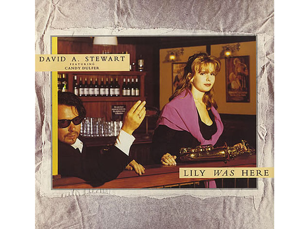 David A. Stewart featuring Candy Dulfer – Lily Was Here (1989)