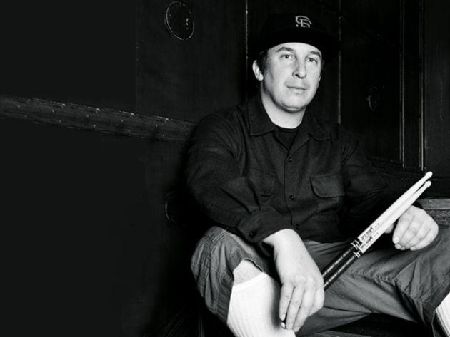 Deftones' Abe Cunningham's drum setup