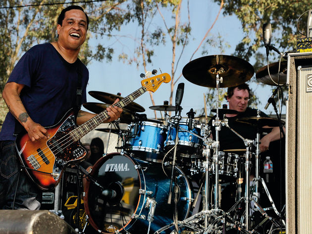 Deftones' rhythm section