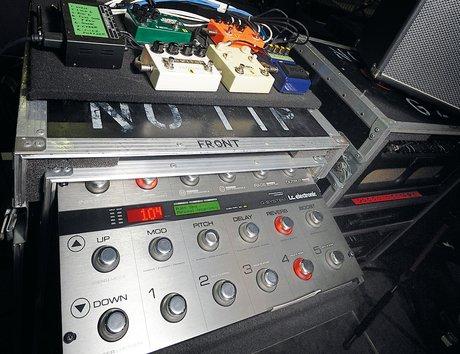 Depeche mode live setup