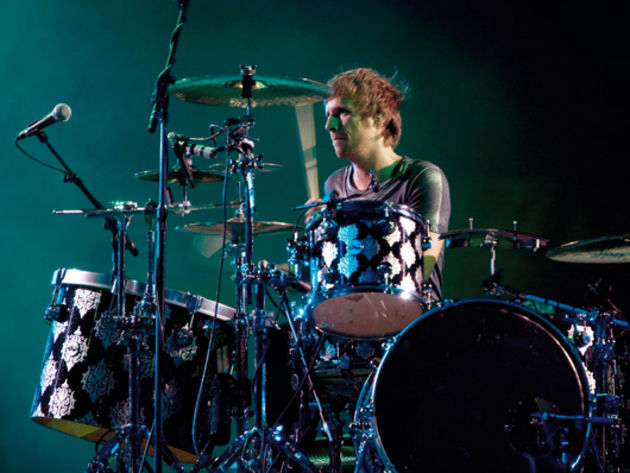 Muse's Dom Howard's drum setup