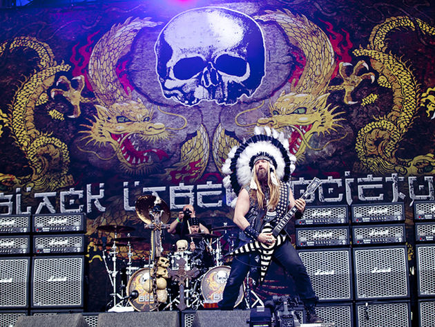 Black Label Society drummer Chad Szeliga and frontman Zakk Wylde