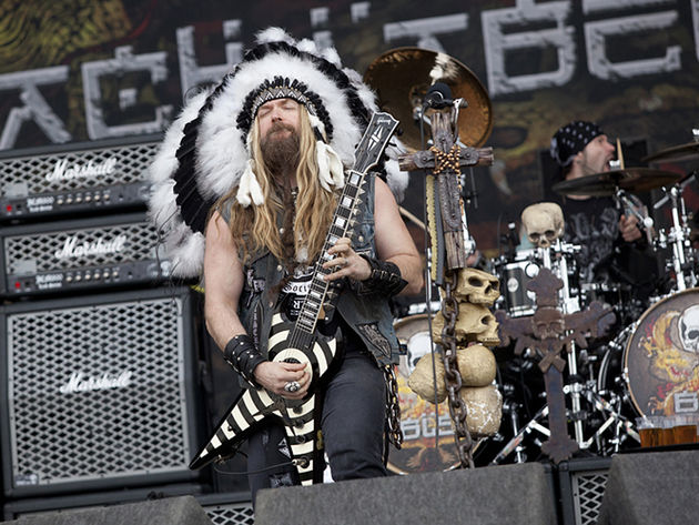 Zakk Wylde, frontman and guitarist of Black Label Society