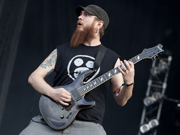 Killswitch Engage guitarist Joel Stroetzel