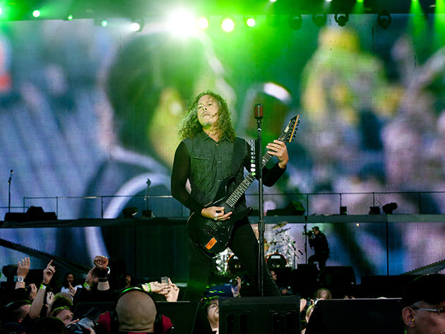 Metallica guitarist Kirk Hammett