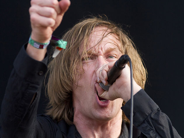 Refused frontman Dennis Lyxzén