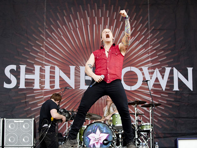 Shinedown frontman Brent Smith
