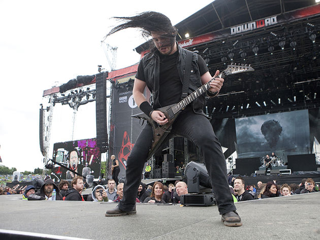 Trivium guitarist Corey Beaulieu