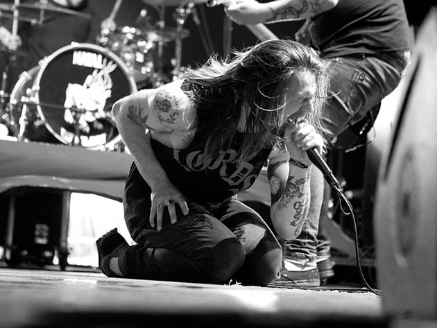 While She Sleeps frontman Lawrence Taylor