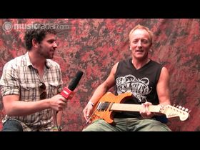VIDEO EXCLUSIVE: Phil Collen at Download 09