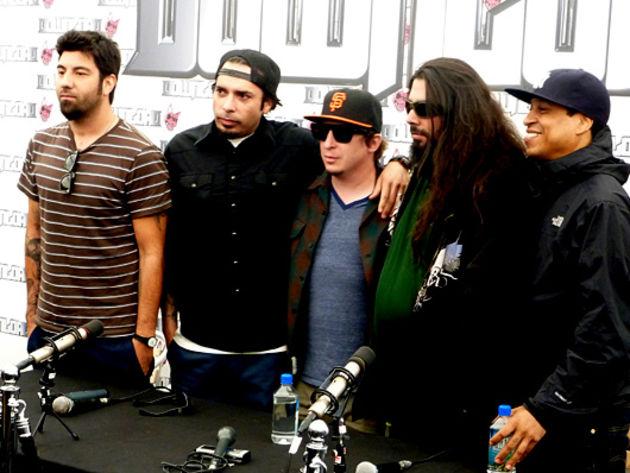 Deftones press conference