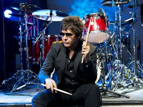 Clem Burke's drum setup in pictures