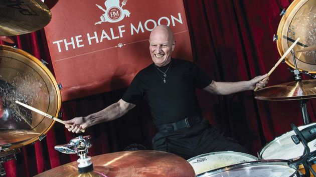 Mr Chris Slade in action