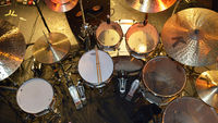 Marco Minnemann's drum setup in pictures