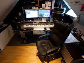 In pictures: Eddie Thoneick's home studio