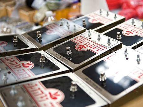 Electro-Harmonix big muff fuzz pedals