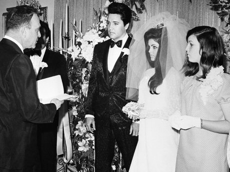 Elvis priscilla wedding