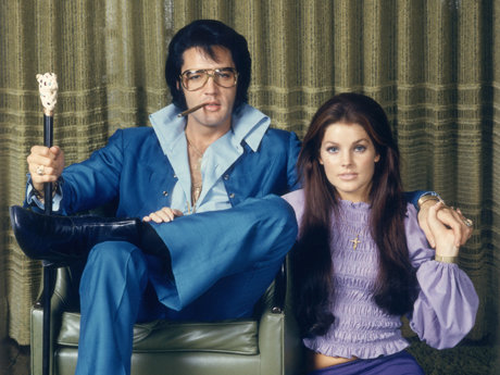 Elvis and priscilla