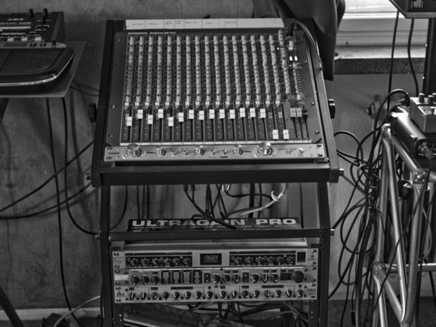Mixer and rack FX