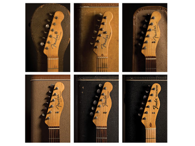 The Golden Age in Telecaster headstocks