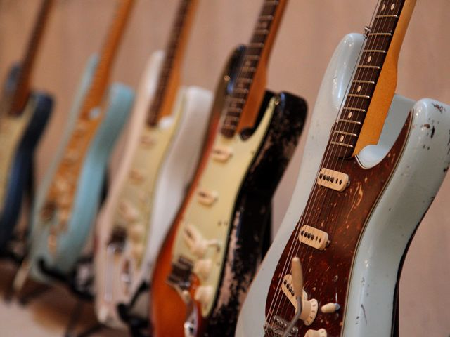 Fender Custom Shop roadshow gallery