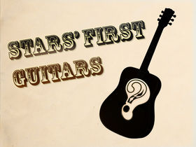 52 famous players on their first guitars