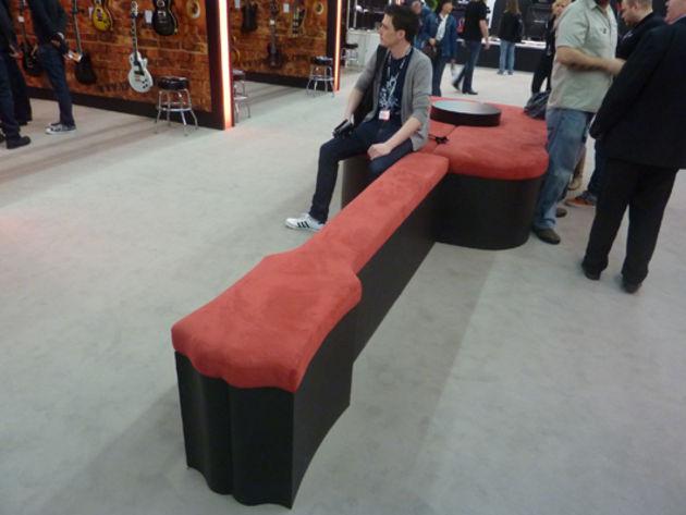 Guitar Sofa...