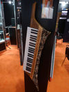 What's the one thing more tasteful than a keytar? One with a faux animal skin print of course!