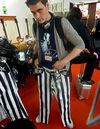 Team MusicRadar consider a wardrobe makeover, Frankfurt-style