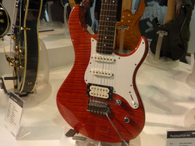 Musikmesse 2010: new Yamaha electric guitars and basses in pictures