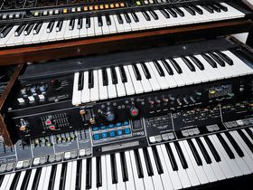 In pictures: Fred Falke's synth-heavy home studio