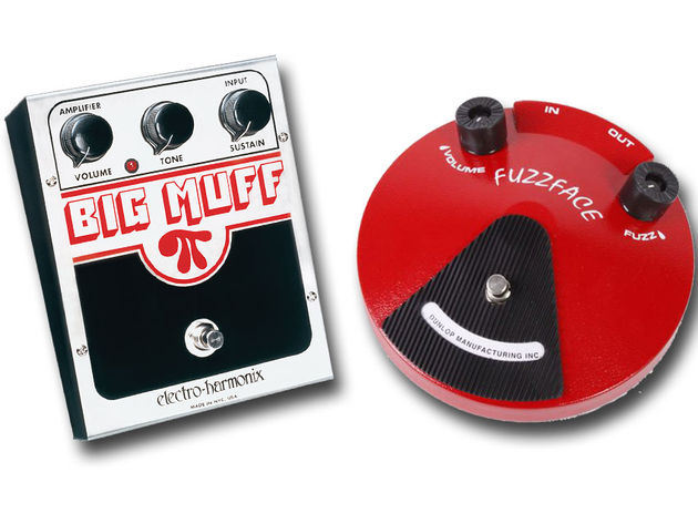 What's the difference between a Fuzz Face and a Big Muff Pi?