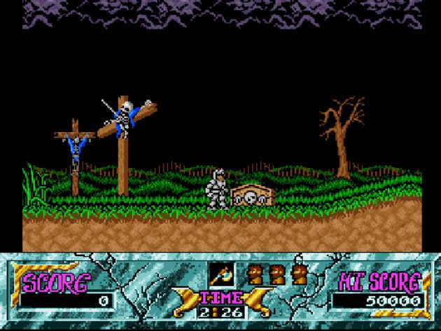Ghouls 'n Ghosts (Amiga/C64/Atari ST)