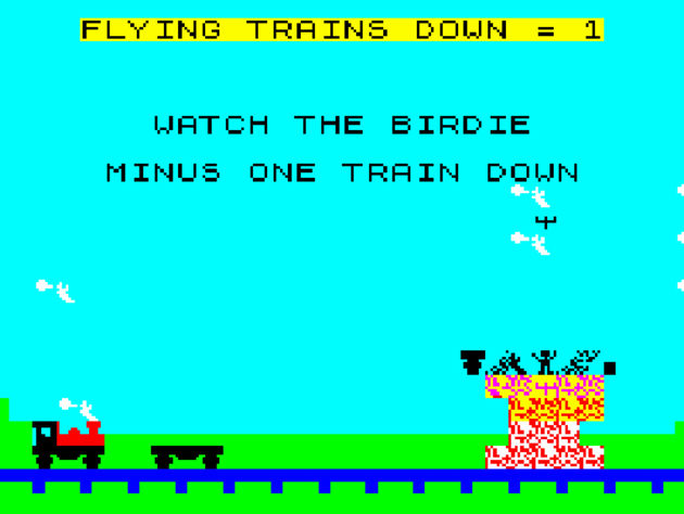 Flying Trains