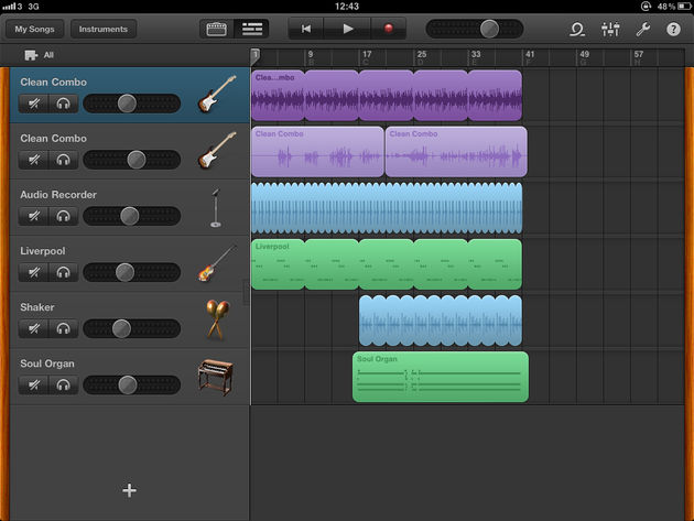 GarageBand for iPad hands-on