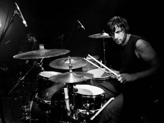 Benny Horowitz's drum setup