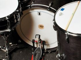 The Gaslight Anthem's drum setup in pictures