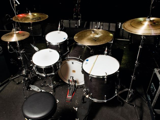 Le kit de Benny Horowitz du groupe Gaslight Anthem