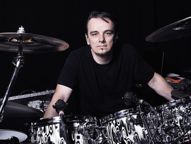 Porcupine Tree's Gavin Harrison's drum setup