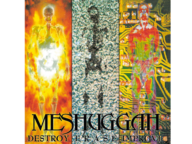 Meshuggah – Destroy, Erase, Improve (1995)