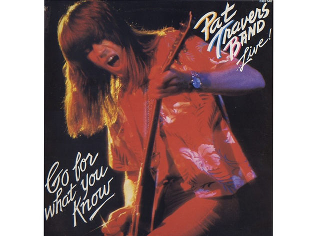 Pat Travers – Live! Go For What You Know (1979)