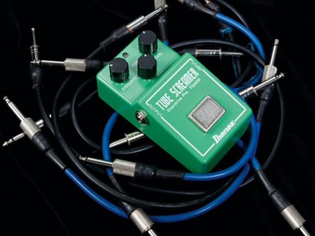 The Ibanez Tube Screamer, possibly the world's most popular stompbox