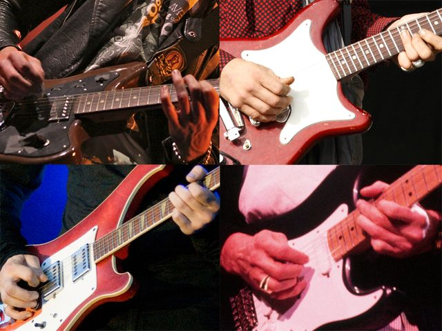 Guess the guitarist!