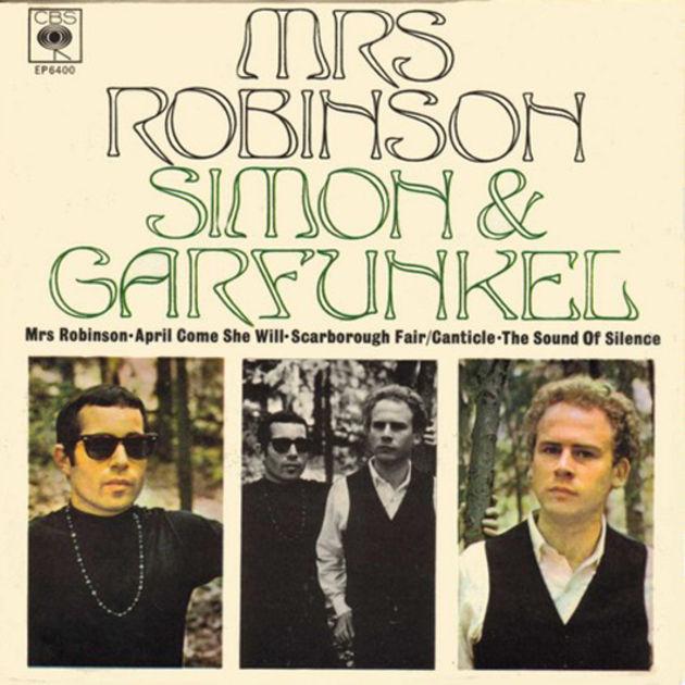 Simon & Garfunkel - Mrs Robinson (1968)