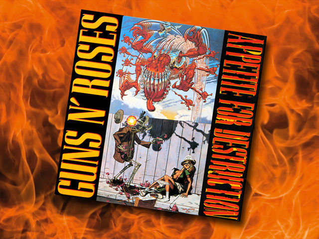 Guns N' Roses - Appetite For Destruction (1987)