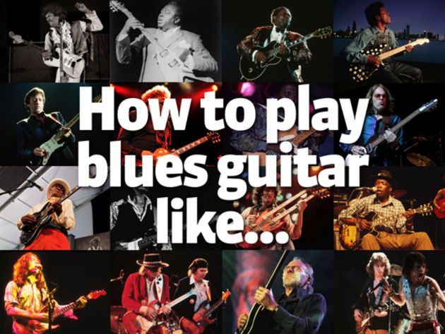 How to play blues guitar like…