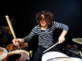 Ilan Rubin's Paramore drum setup in pictures